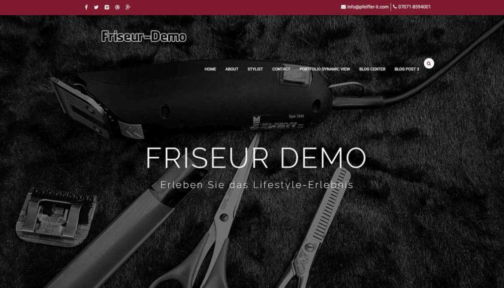 ✔️ Webseiten für Frisöre